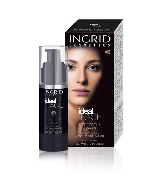 Ingrid Ideal face 16H luxusný make-up 16 Peach 35ML