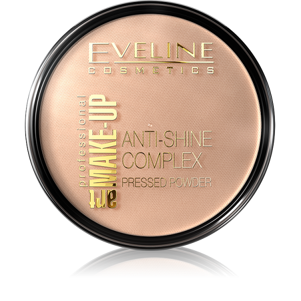 EVELINE ART MAKE UP MINERÁLNY PÚDER č.34 MEDIUM BEIGE 14G