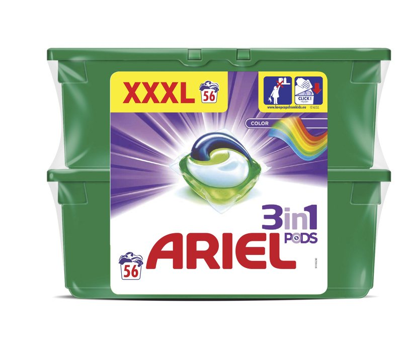 Ariel Color&Syle Power Capsules 56ks