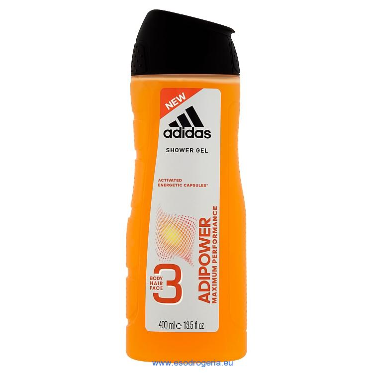 Adidas sprchový gél men adipower 400ml