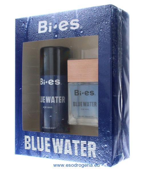 Bi-es kazeta blue water EDT 100ml+ DEO 150ml