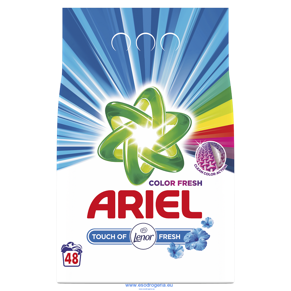 Ariel Touch of Lenor fresh 3,6KG/48PD