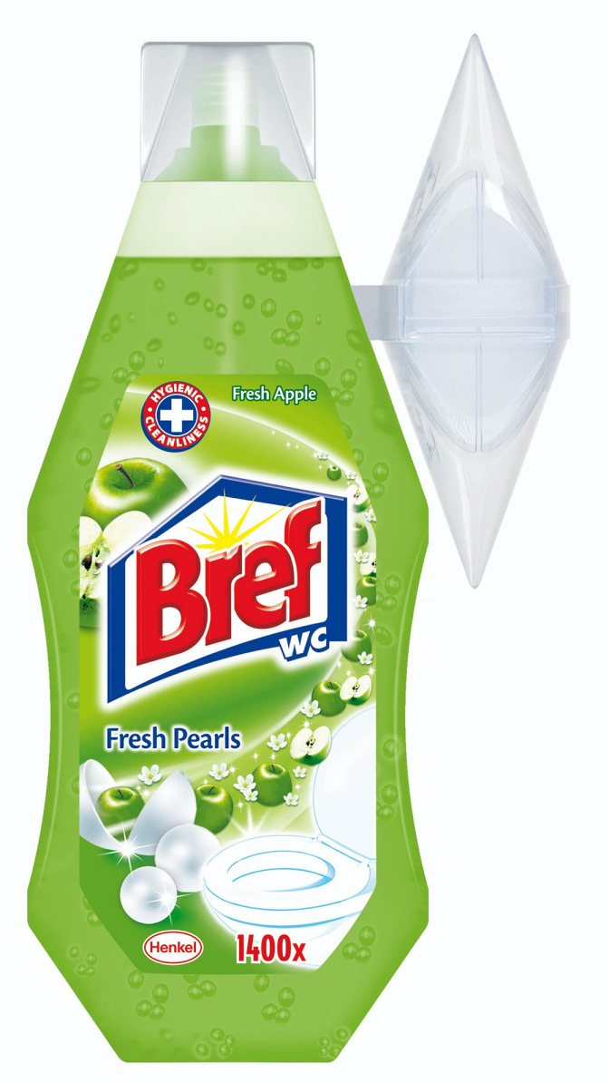 BREF WC GÉL FRESH APPLE PEARLS 360ML / 502