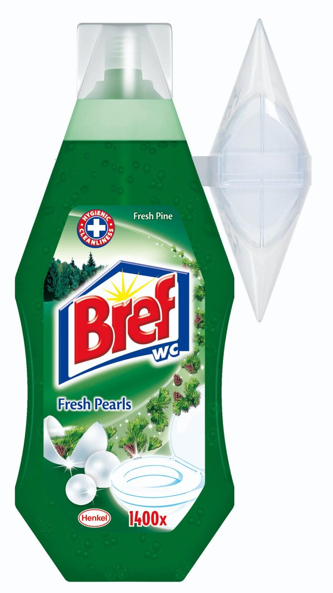 BREF WC GÉL FRESH PINE PEARLS 360ML / 441