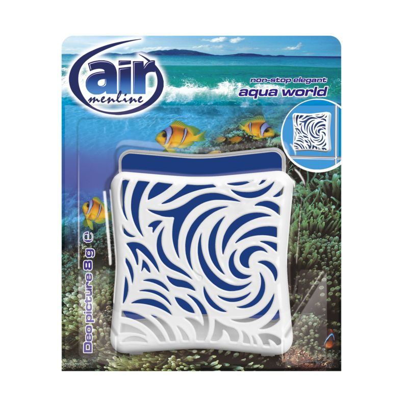 AIR MENLINE DEO PICTURE AQUA WORLD 8G