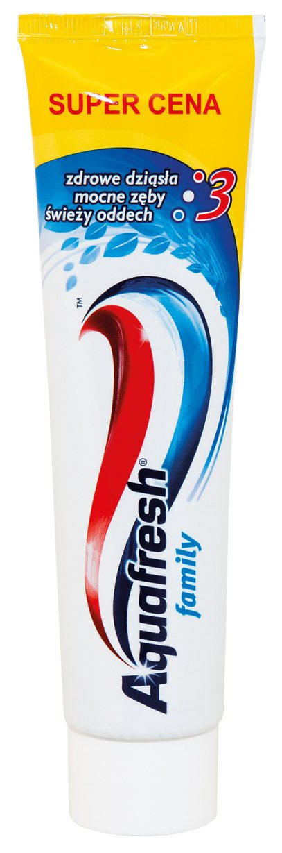 AQUAFRESH FAMILY  ZUBNÁ PASTA 100ML
