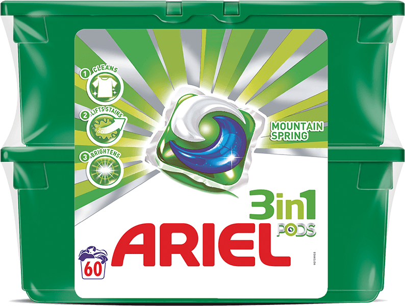 Ariel Mountain Spring Power Capsules 60ks