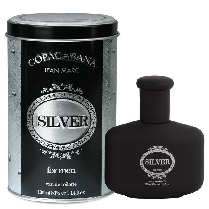 DRAMERS JEAN MARC EAU DE TOILETTE  COPACABANA SILVER MEN 100ML