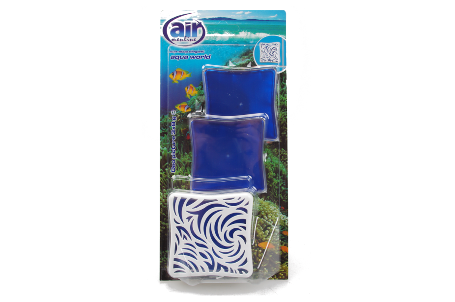 AIR MENLINE DEO PICTURE AQUA WORLD 3x8G