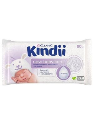 CLEANIC KINDII VLHKÉ UTIERKY NEW  BABY CARE 60KS