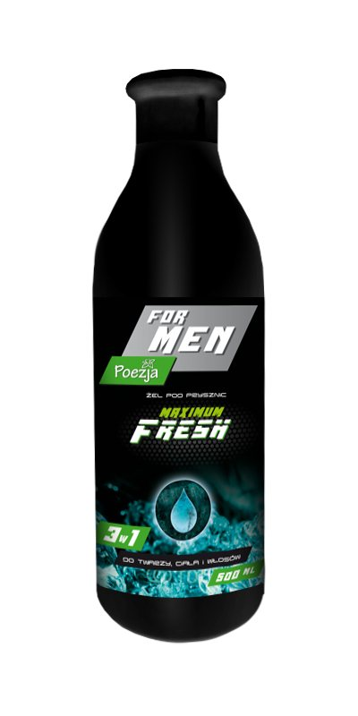 POEZJA SPRCHOVÝ GÉL MEN MAXIMUM FRESH 500ML