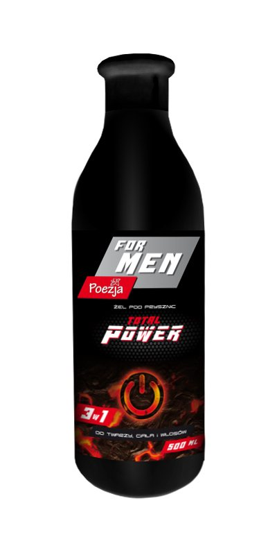 POEZJA SPRCHOVÝ GÉL MEN TOTAL POWER 500ML