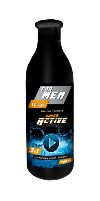 POEZJA SPRCHOVÝ GÉL MEN SUPER ACTIVE 500ML