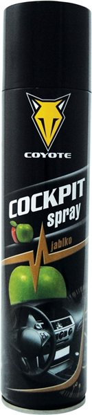 COYOTE COCKPIT SPRAY JABLKO 400ML