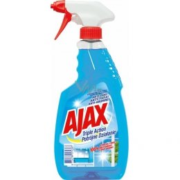 AJAX NA SKLENENÉ POVRCHY ANTI-FOG TRIPLE ACTION MR 500ML