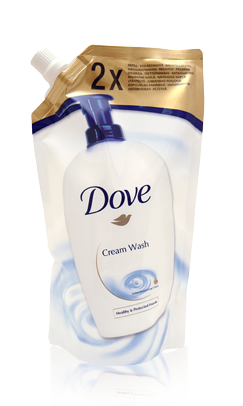 DOVE TEKUTÉ MYDLO BEAUTY CREAM 500ML