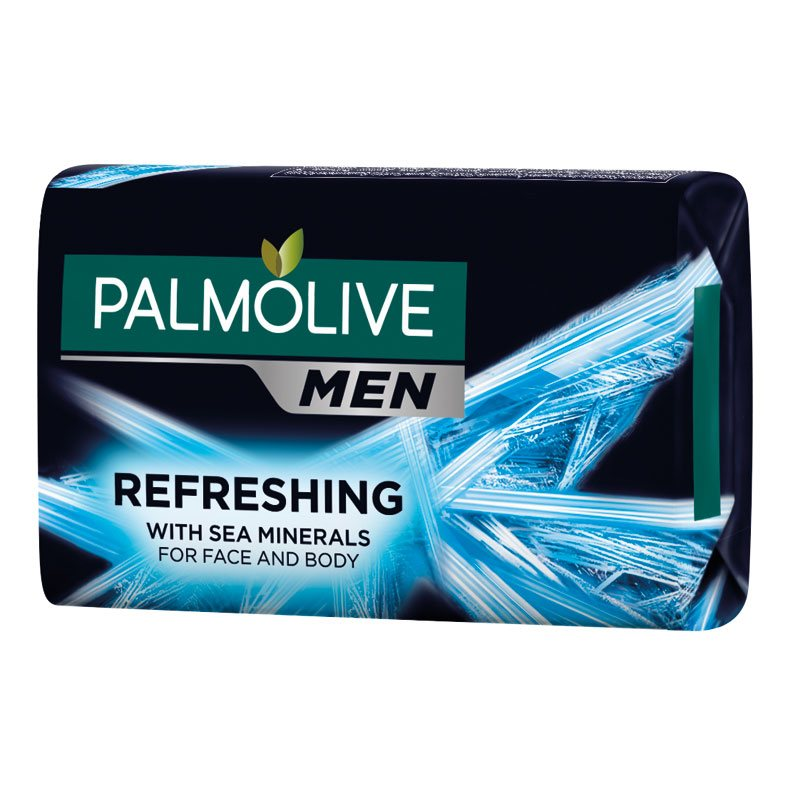 Palmolive tuhé mydlo Men Refreshing Sea Minerals 90g