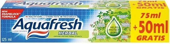 AQUAFRESH HERBAL ZUBNÁ PASTA 125ML