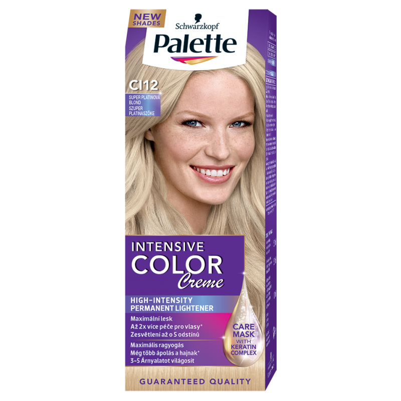 Palette Intensive color creme CI12 Super platinová blond