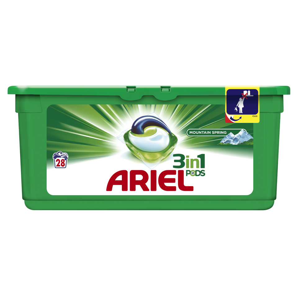 Ariel Mountain Spring Power Capsules 28ks