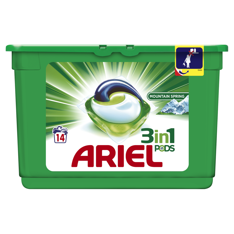 Ariel Mountain Spring Power Capsules 14ks