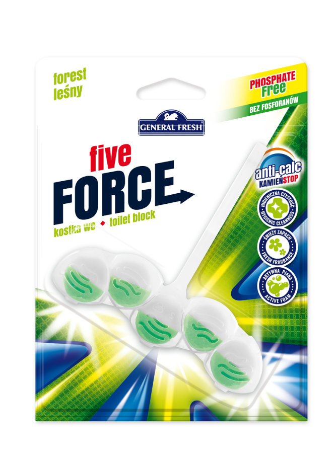 General fresh five force les 50g