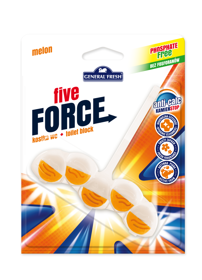 General fresh five force melón 50g