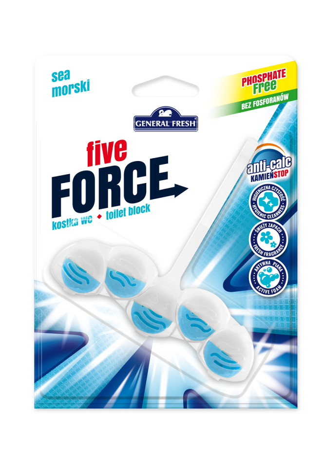 General fresh five force more 50g