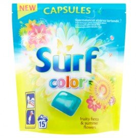 Surf Fruity Fiesta Color kapsule na pranie 15ks / 15PD