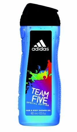 ADIDAS SPRCHOVÝ GÉL TEAM FIVE 400ML MEN / 455