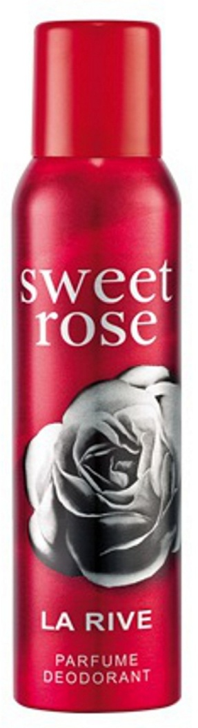 La rive woman sweet rose deo 150ml
