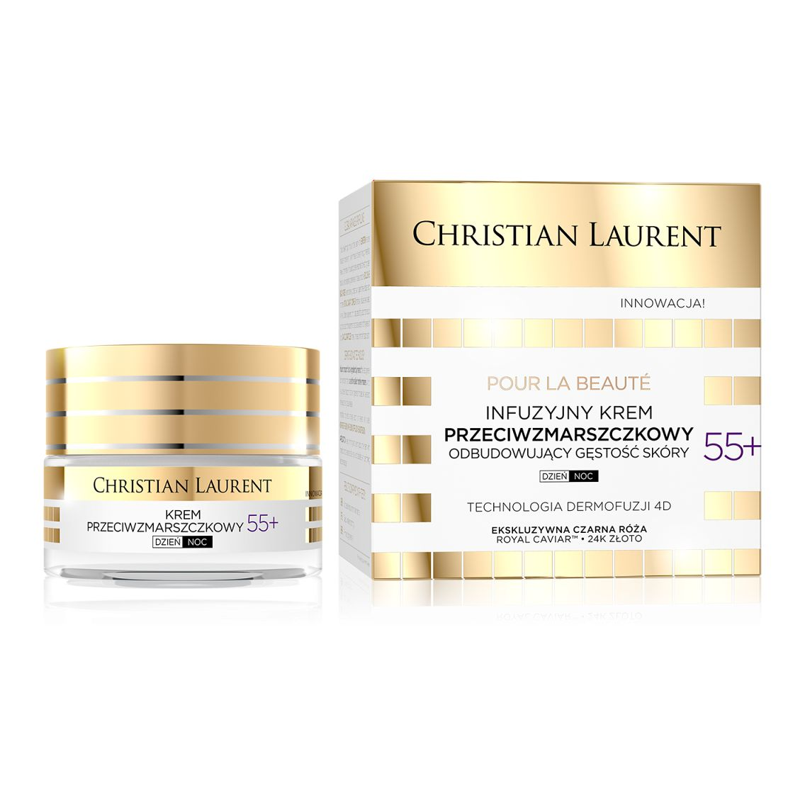 Christian Laurent protivráskový krém 55+ 50ml