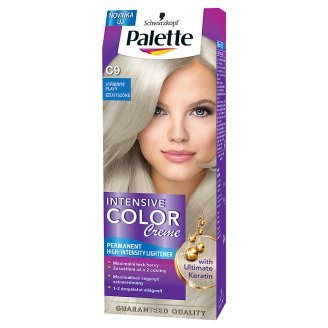 Palette Intensive color creme C9 Striebristý blond