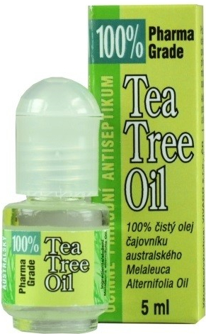 Vivaco tea tree 100% oil roll on 5ml