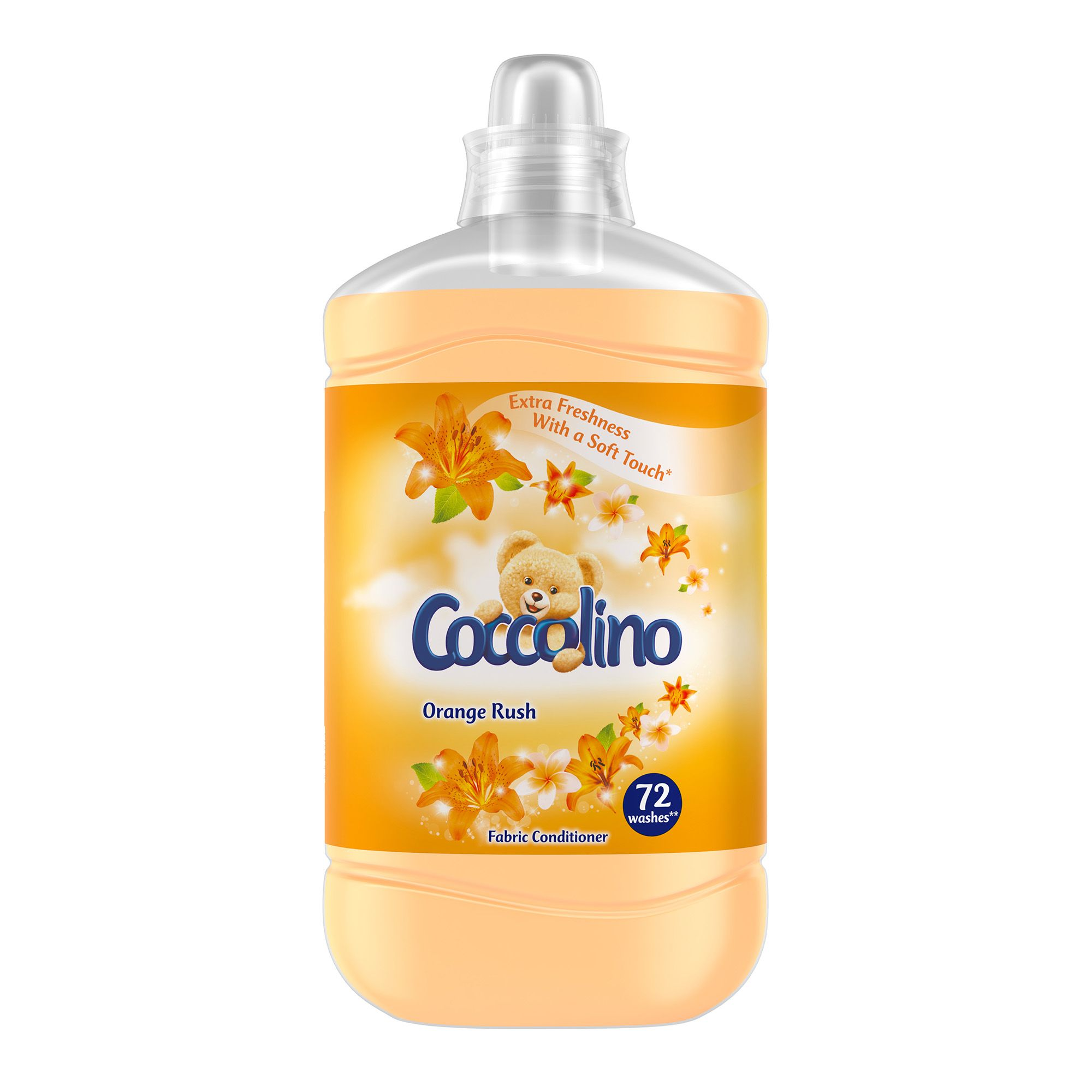 Coccolino orange rush aviváž 1,8L/72PD