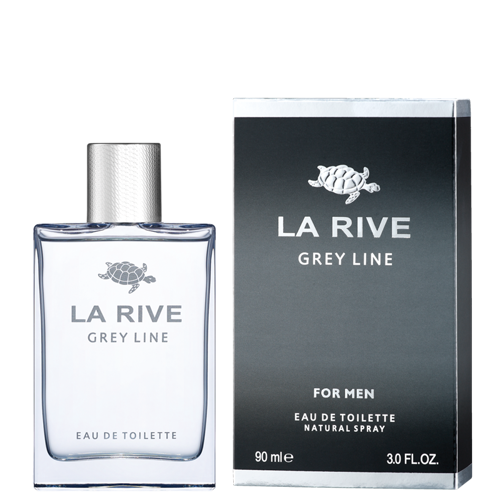 La rive men grey line edt 90ml