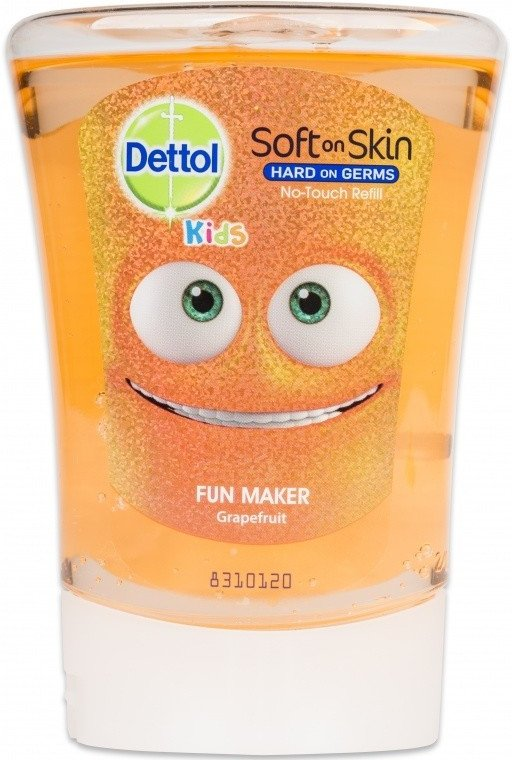 Dettol kids náplň do bezdot. dávkovača grapefruit 250ml