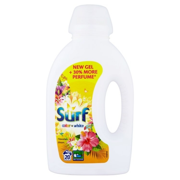 Surf Hawaiian dream prací gél color & white 1L / 20pd