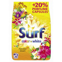 Surf Hawaiian dream prací prášok color & white 1,3kg/ 20pd
