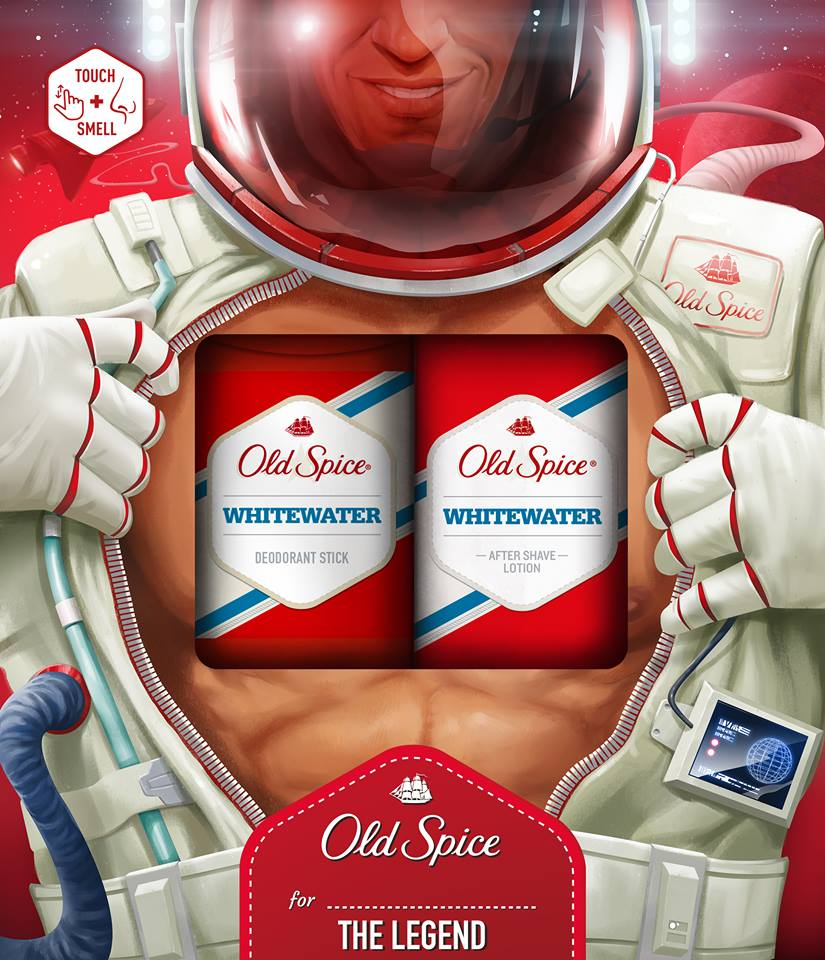 Old spice vianočná kazeta whitewater DEO stick 50ml +VPH 100ml