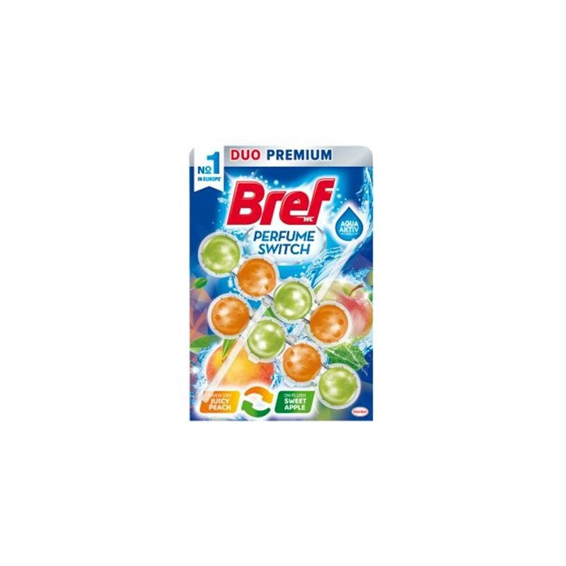 Bref Perfume Switch Juicy peach & Sweet apple 2x50g