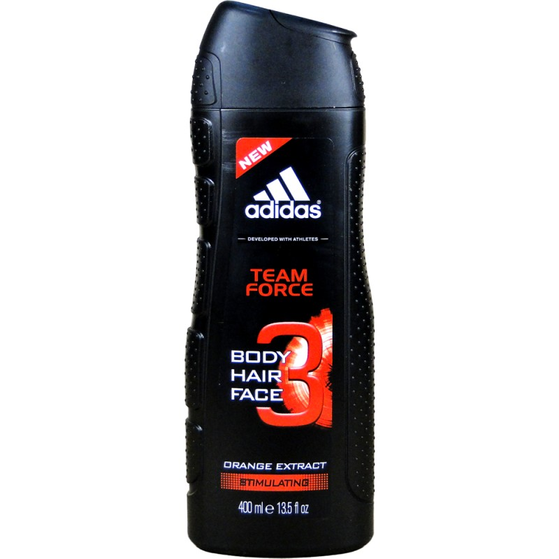 Adidas Men sprchový gél Team Force 400ml