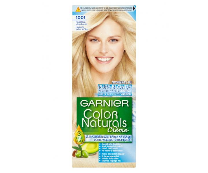 Garnier color naturals 1001 popolavá ultra blond