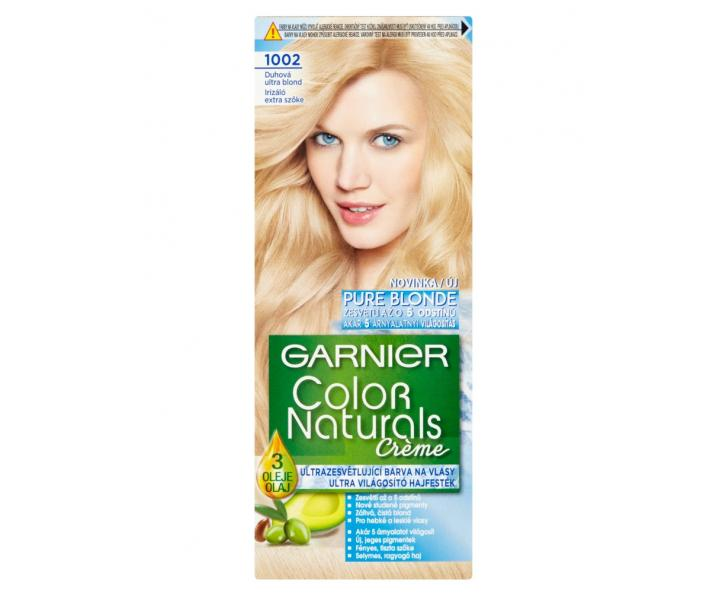 Garnier color naturals 1002 dúhová ultra blond
