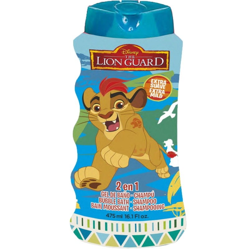 Disney šampón + pena Lion Guard 475ml