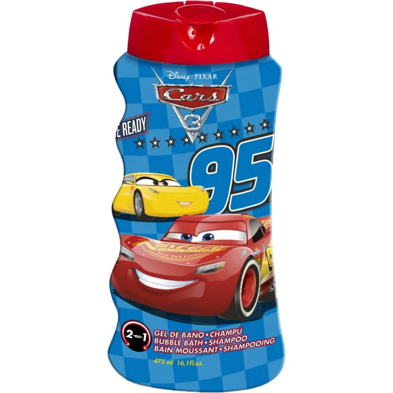 Disney šampón + pena Cars 475ml