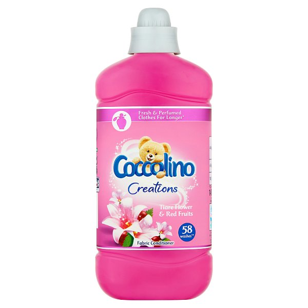 Coccolino aviváž Creations tiare flower & red fruits 1,45L / 58 PD
