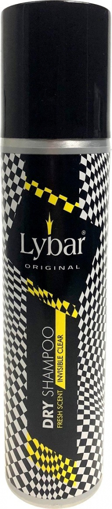 Lybar suchý šampón invisible clear 250ml