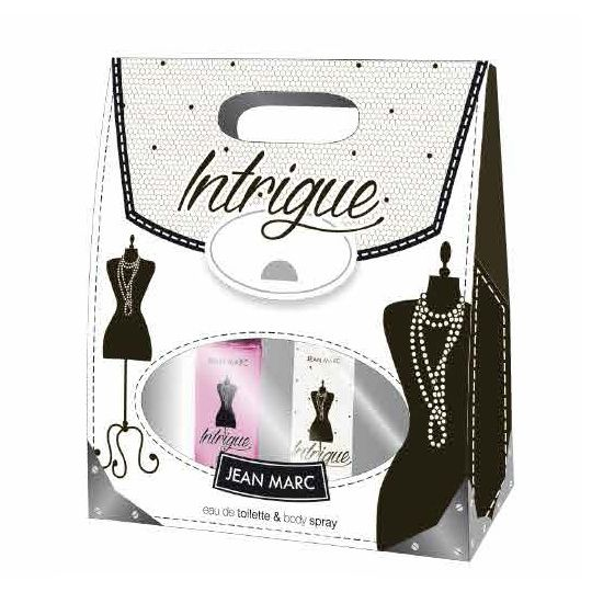 Dramers darčeková sada intrigue EDT 50ml + sprej 75ml