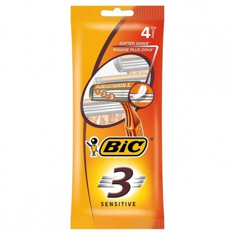 Bic 3 holítka sensitive 4ks